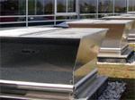 Axiální střešní nebo stěnový požární ventilátor