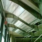 Aupark - 3. etepa - protipožární ventilátory a žaluziové klapky